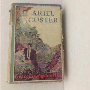 Ariel Cluster book vintage Grace Livingston Hill